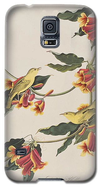 Rathbone Warbler Galaxy S5 Case by John James Audubon