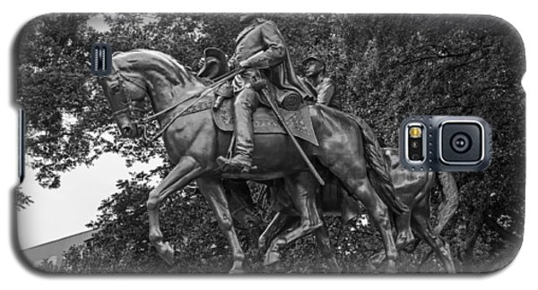 Sculptures Galaxy S5 Cases - Statue of General Robert E Lee on His Horse Traveller  Galaxy S5 Case by Mountain Dreams