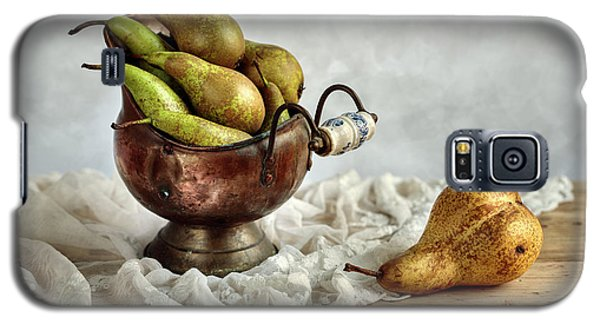 Still-life With Pears Galaxy S5 Case by Nailia Schwarz