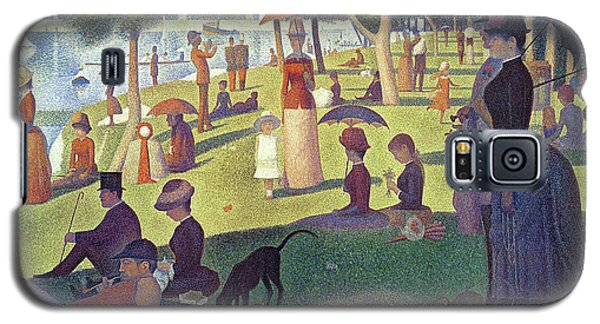 Sunday Afternoon On The Island Of La Grande Jatte Galaxy S5 Case by Georges Pierre Seurat
