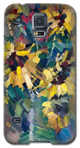 Sunflowers Galaxy S5 Case by Nikolay Malafeev