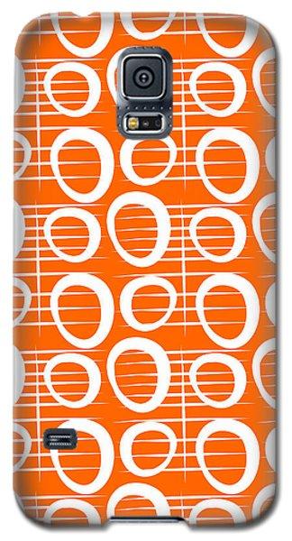 Tangerine Loop Galaxy S5 Case by Linda Woods