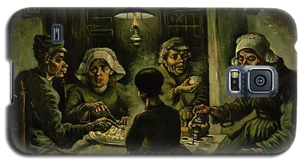 The Potato Eaters, 1885 Galaxy S5 Case by Vincent Van Gogh