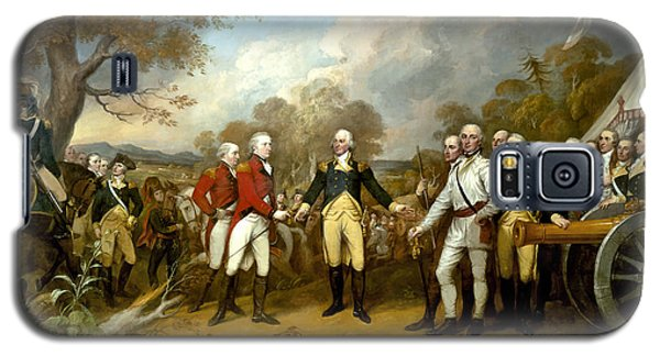 Landmarks Galaxy S5 Cases - The Surrender of General Burgoyne Galaxy S5 Case by War Is Hell Store