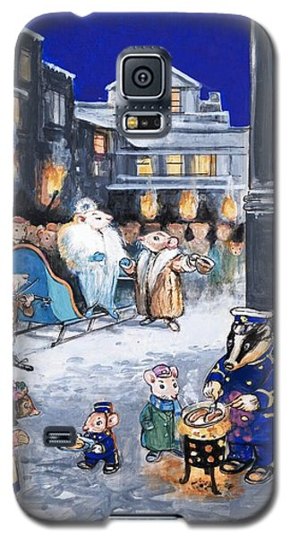 The Town Mouse And The Country Mouse Galaxy S5 Case by Philip Mendoza
