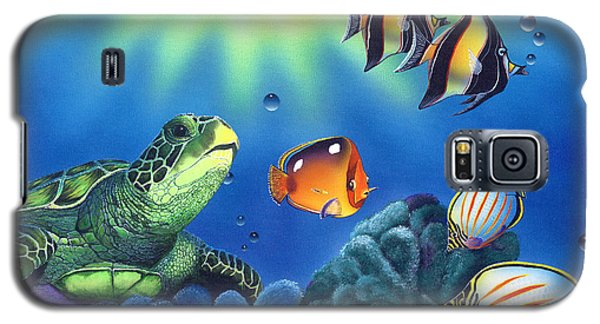 Turtle Dreams Galaxy S5 Case by Angie Hamlin