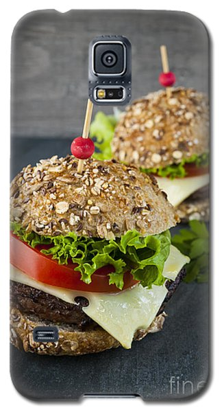 Two Gourmet Hamburgers Galaxy S5 Case by Elena Elisseeva