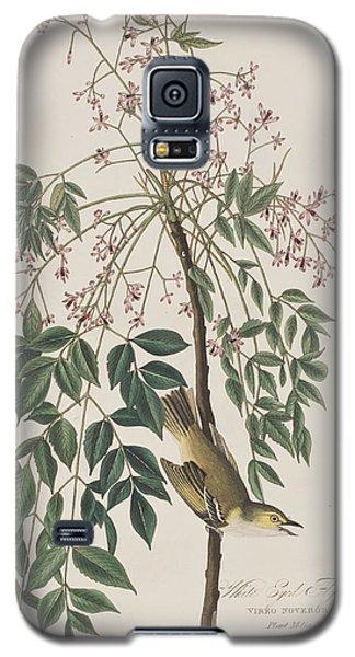 White-eyed Flycatcher Galaxy S5 Case by John James Audubon