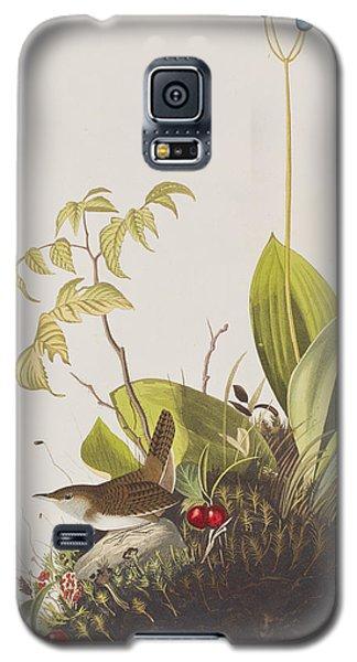 Wood Wren Galaxy S5 Case by John James Audubon