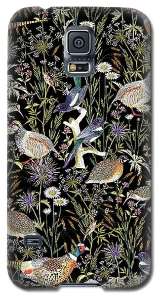Woodland Edge Birds Galaxy S5 Case by Jacqueline Colley