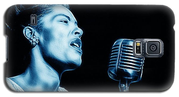 Billie Holiday Collection Galaxy S5 Case by Marvin Blaine