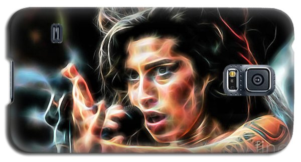 Amy Winehouse Collection Galaxy S5 Case by Marvin Blaine