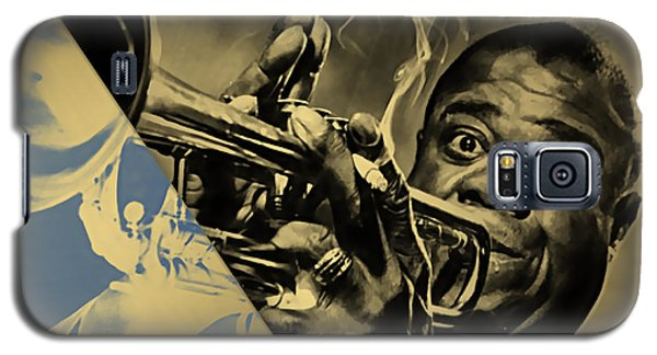Louis Armstrong Collection Galaxy S5 Case by Marvin Blaine