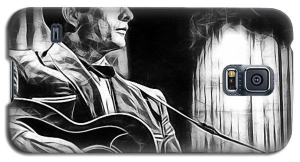 Celebrities Galaxy S5 Cases - Johnny Cash Collection Galaxy S5 Case by Marvin Blaine