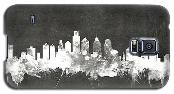 Philadelphia Pennsylvania Skyline Galaxy S5 Case by Michael Tompsett