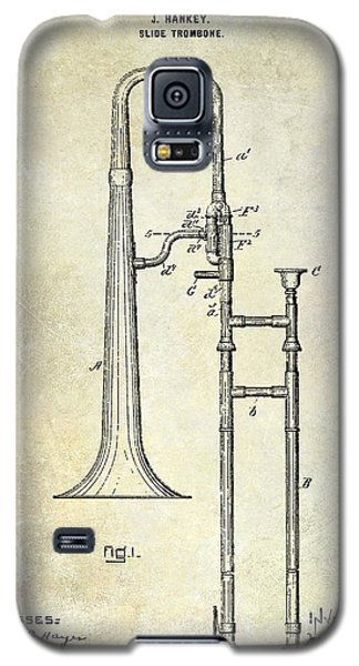 1902 Trombone Patent Galaxy S5 Case by Jon Neidert