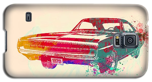 Landmarks Galaxy S5 Cases - 1970 Dodge Charger 1 Galaxy S5 Case by Naxart Studio