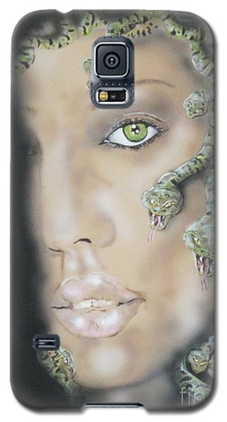 1st Medusa Galaxy S5 Case by John Sodja