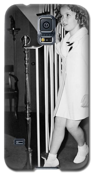 Actress Shirley Temple Galaxy S5 Case by Underwood Archives