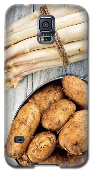 Asparagus Galaxy S5 Case by Nailia Schwarz