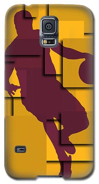 Cleveland Cavaliers Lebron James Galaxy S5 Case by Joe Hamilton