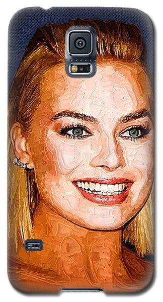 Margot Robbie Art Galaxy S5 Case by Best Actors