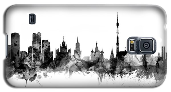 Moscow Russia Skyline Galaxy S5 Case by Michael Tompsett