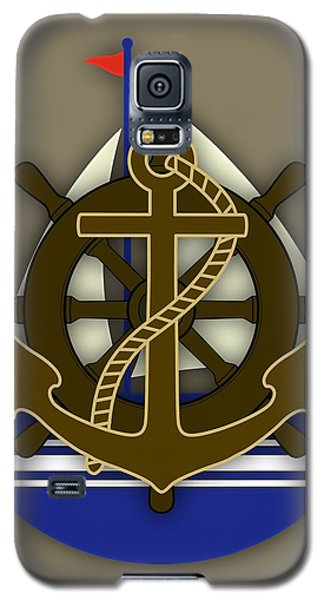 Nautical Collection Galaxy S5 Case by Marvin Blaine