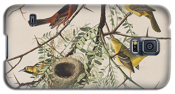 Orchard Oriole Galaxy S5 Case by John James Audubon