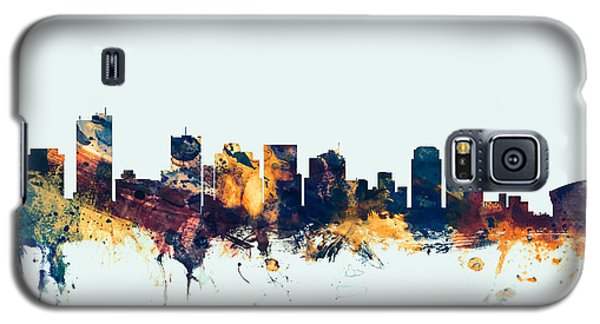 Phoenix Arizona Skyline Galaxy S5 Case by Michael Tompsett