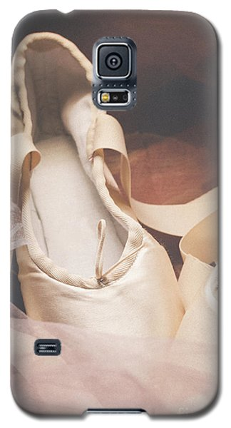 Pyrography Galaxy S5 Cases - Pointe Shoes Galaxy S5 Case by Jelena Jovanovic