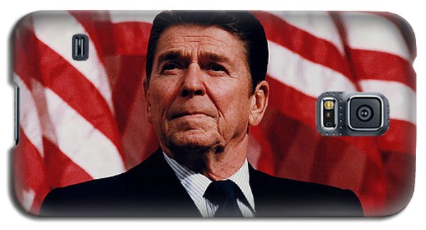 President Ronald Reagan Galaxy S5 Case by War Is Hell Store