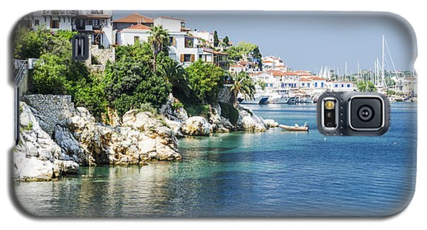 Pyrography Galaxy S5 Cases - Skiathos Island, Greece Galaxy S5 Case by Jelena Jovanovic