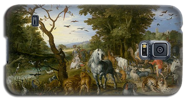 The Entry Of The Animals Into Noah's Ark Galaxy S5 Case by Jan Brueghel the Elder