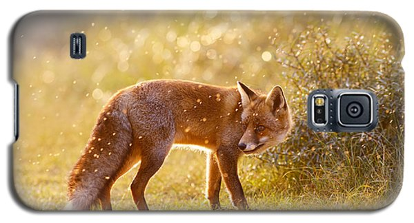 The Fox And The Fairy Dust Galaxy S5 Case by Roeselien Raimond