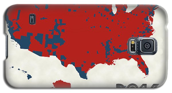 2016 Election Results Galaxy S5 Case by Finlay McNevin