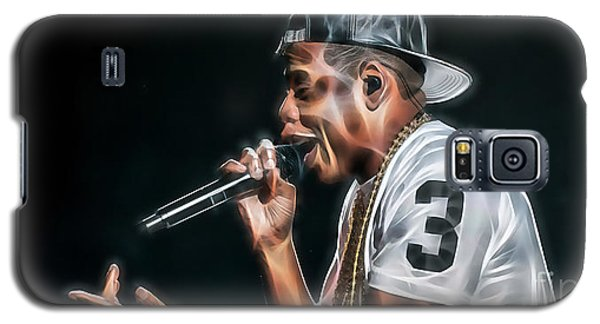 Jay Z Collection Galaxy S5 Case by Marvin Blaine
