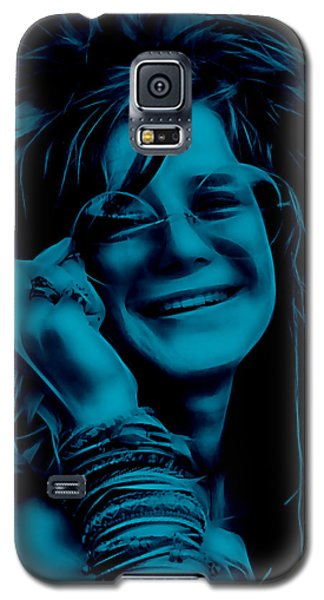 Janis Joplin Collection Galaxy S5 Case by Marvin Blaine