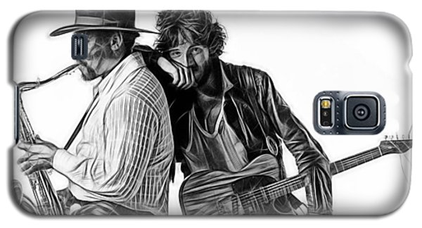 Bruce Springsteen Clarence Clemons Collection Galaxy S5 Case by Marvin Blaine