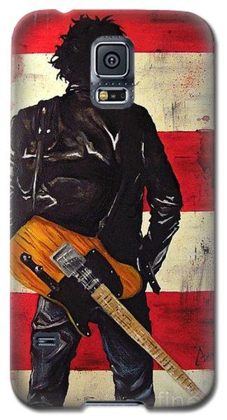 Bruce Springsteen Galaxy S5 Case by Francesca Agostini