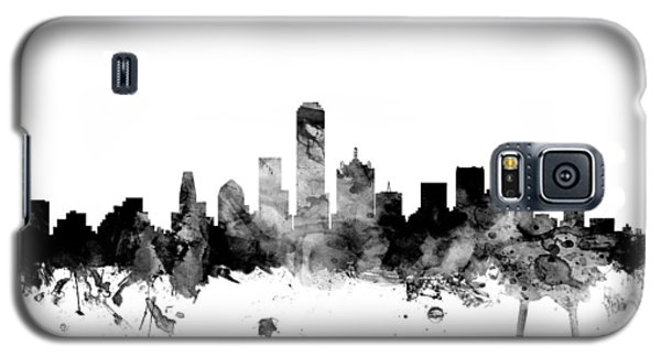 Dallas Texas Skyline Galaxy S5 Case by Michael Tompsett