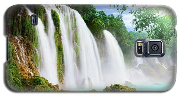 Detian Waterfall Galaxy S5 Case by MotHaiBaPhoto Prints