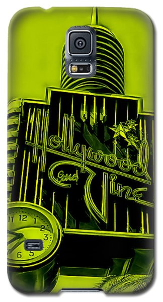 Hollywood And Vine Street Sign Collection Galaxy S5 Case by Marvin Blaine