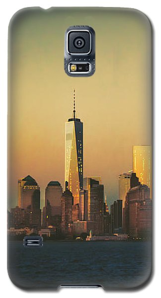 Buy Galaxy S5 Cases - New York City Skyline Galaxy S5 Case by Vivienne Gucwa
