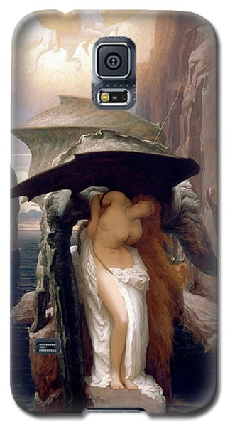 Perseus And Andromeda Galaxy S5 Case by Frederic Leighton