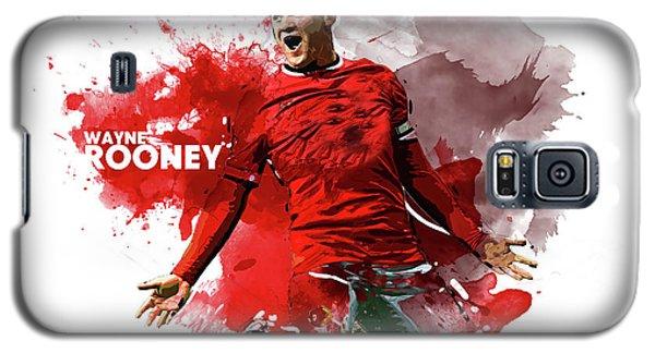 Wayne Rooney Galaxy S5 Case by Semih Yurdabak