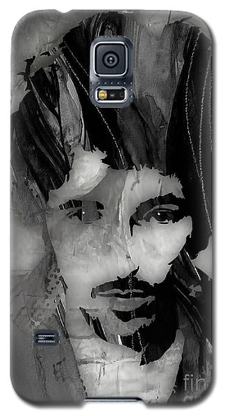Celebrities Galaxy S5 Cases - Bruce Springsteen Collection Galaxy S5 Case by Marvin Blaine
