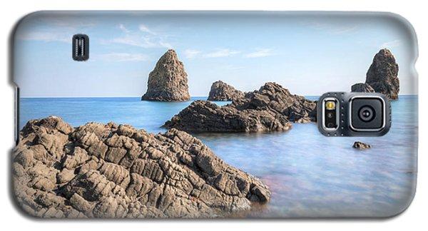 Aci Trezza - Sicily Galaxy S5 Case by Joana Kruse