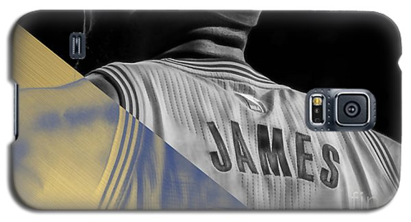 Lebron James Collection Galaxy S5 Case by Marvin Blaine