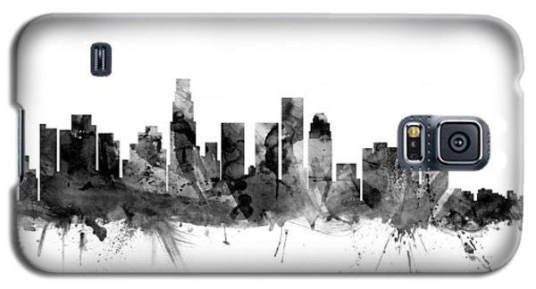 Los Angeles California Skyline Galaxy S5 Case by Michael Tompsett